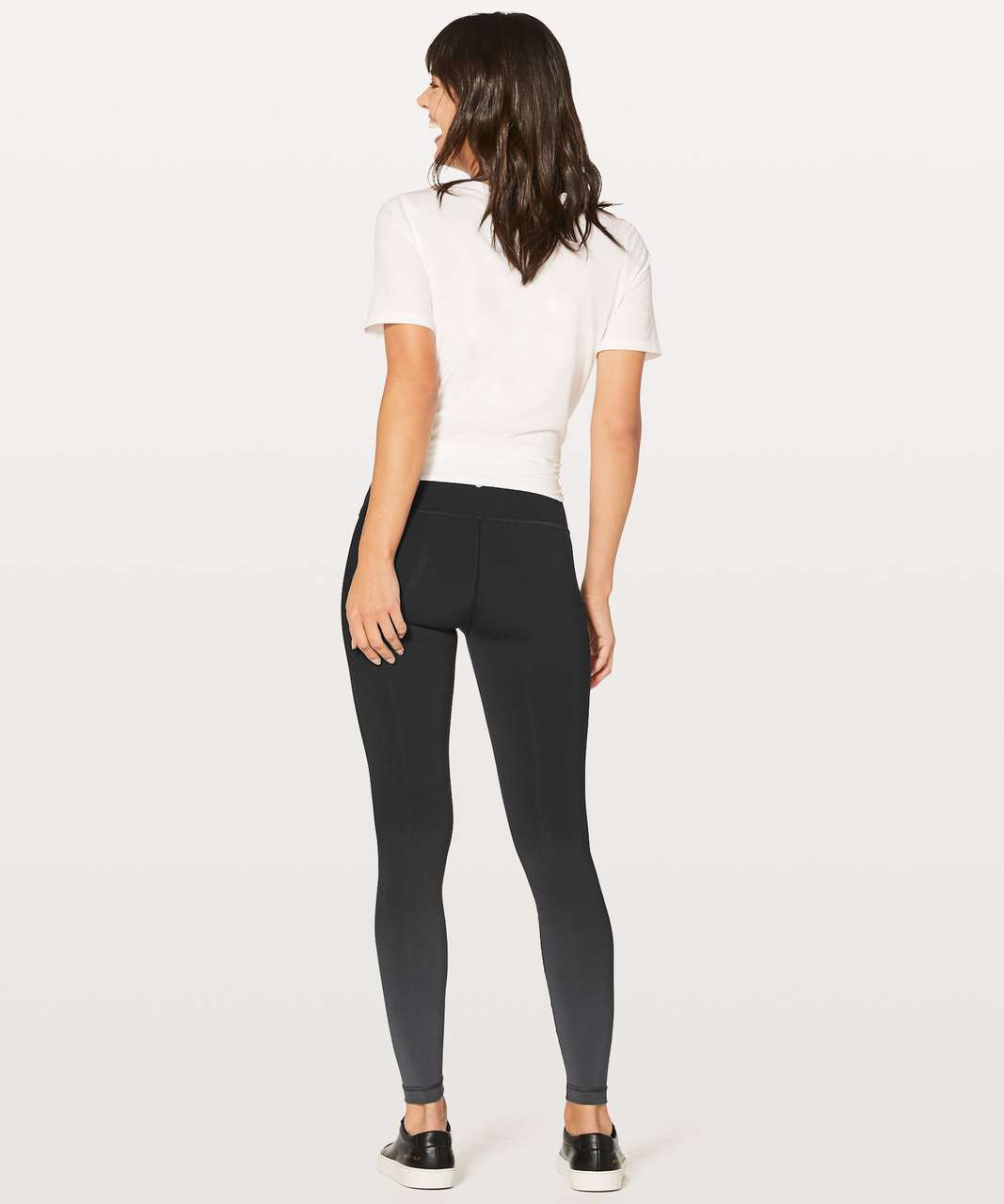 "Lululemon Wunder Under Hi-Rise Tight (Ombre) 28"" - Ombre Black"
