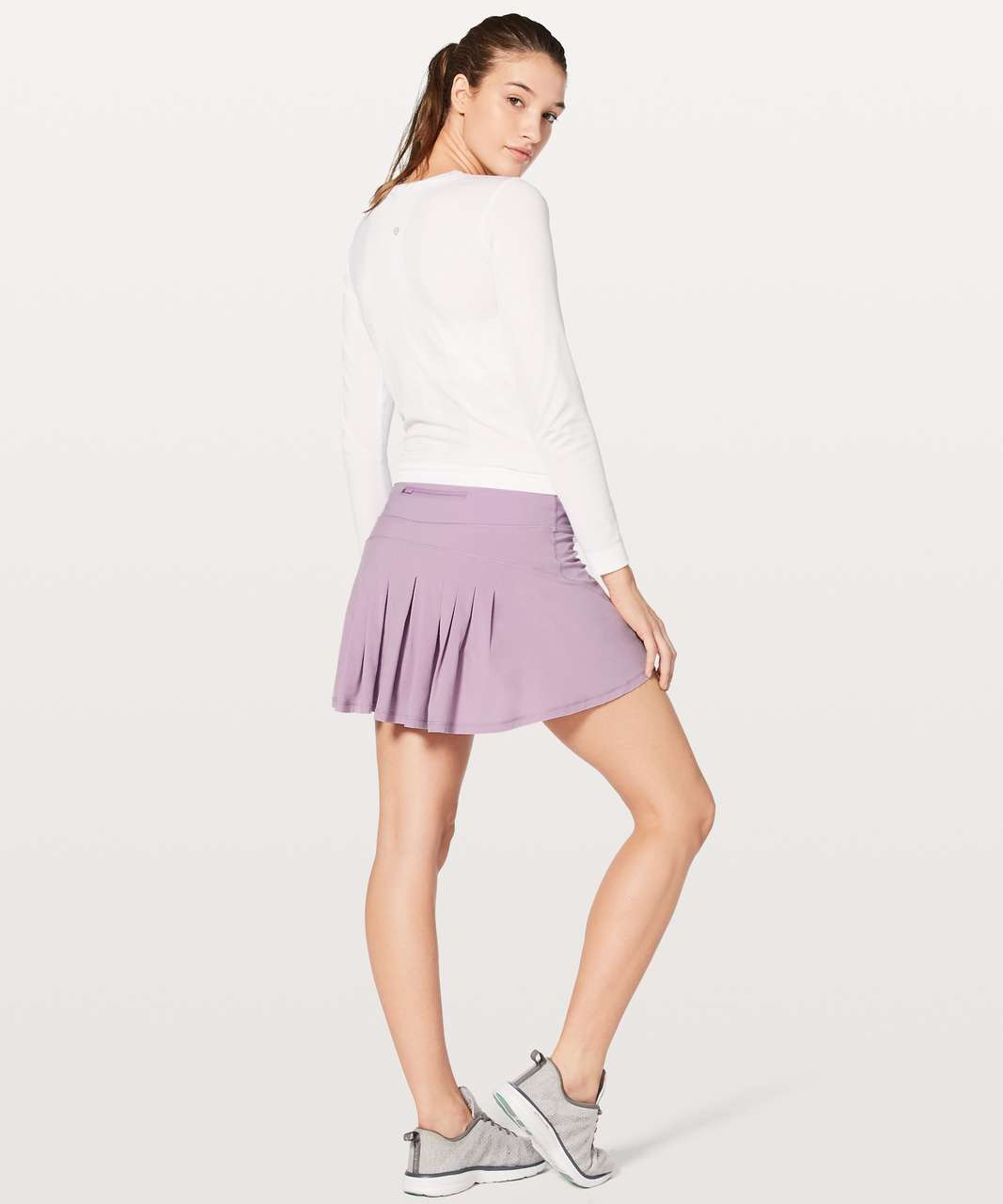 "Lululemon Circuit Breaker Skirt II (Tall) 15"" - Lilac Quartz"