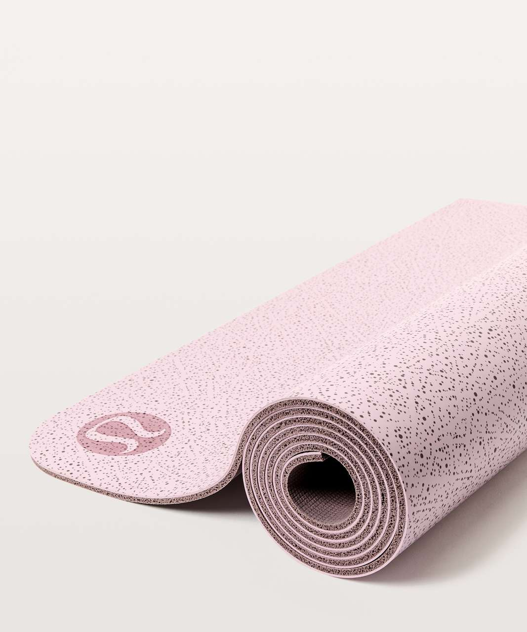 Lululemon The Reversible Mat 5mm - Night View Porcelain Pink Misty Mauve / Misty Mauve