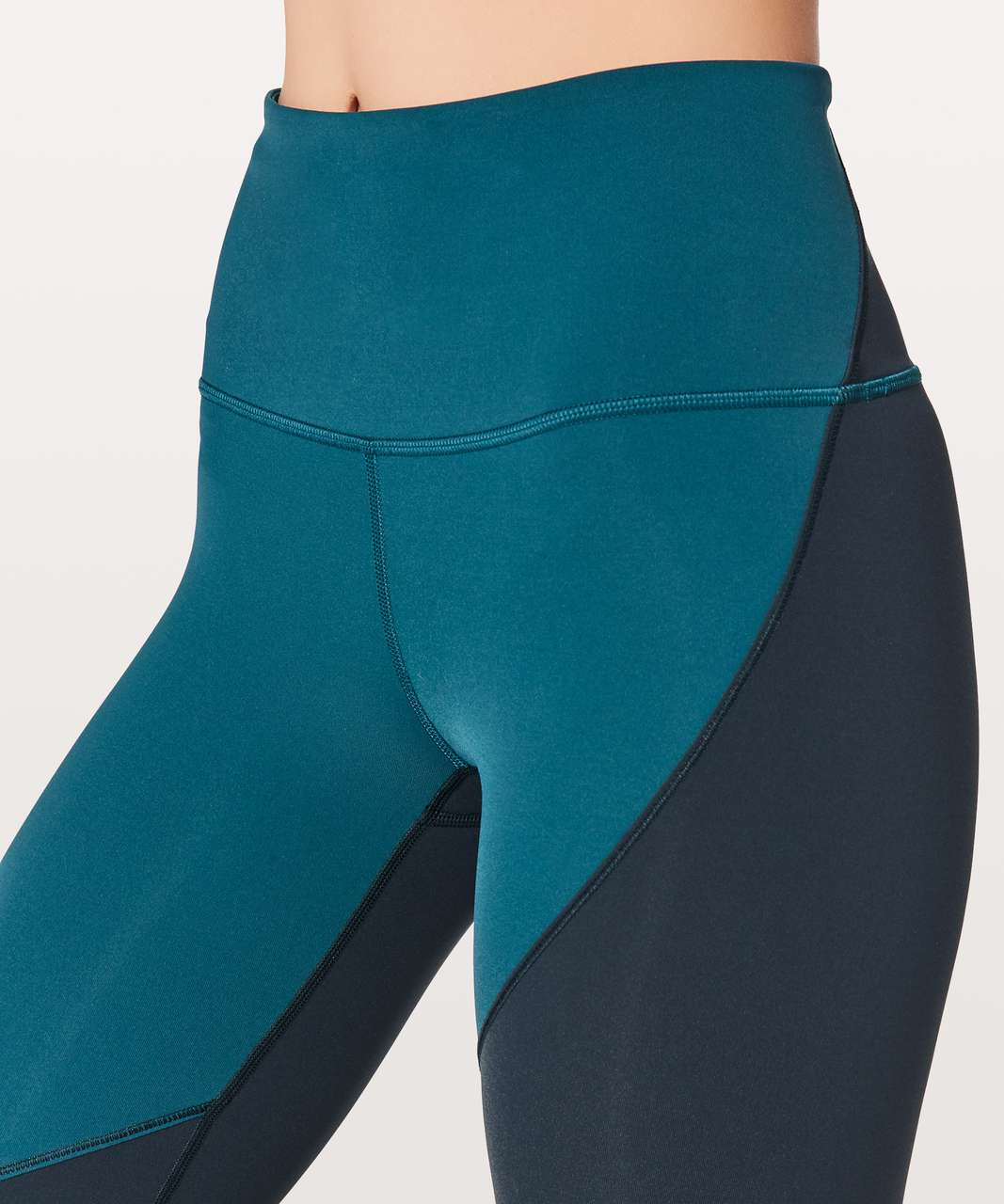 "Lululemon Wunder Under Hi-Rise 7/8 Tight (Special Edition) 25"" - Nile Blue / Nocturnal Teal / Persian Blue"