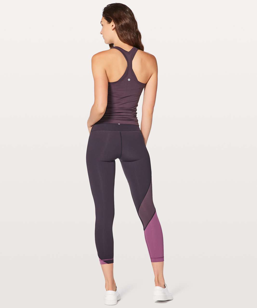 "Lululemon Wunder Under Hi-Rise 7/8 Tight (Special Edition) 25"" - Black Currant / Boysenberry / Dark Mystic"