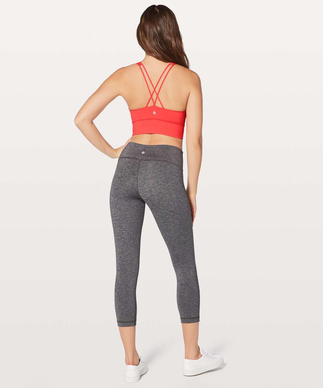 Lululemon Free To Be Bra Long Line - Vivid Flame