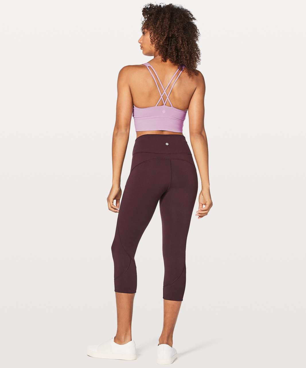 Lululemon Free To Be Bra Long Line - Lilac Quartz