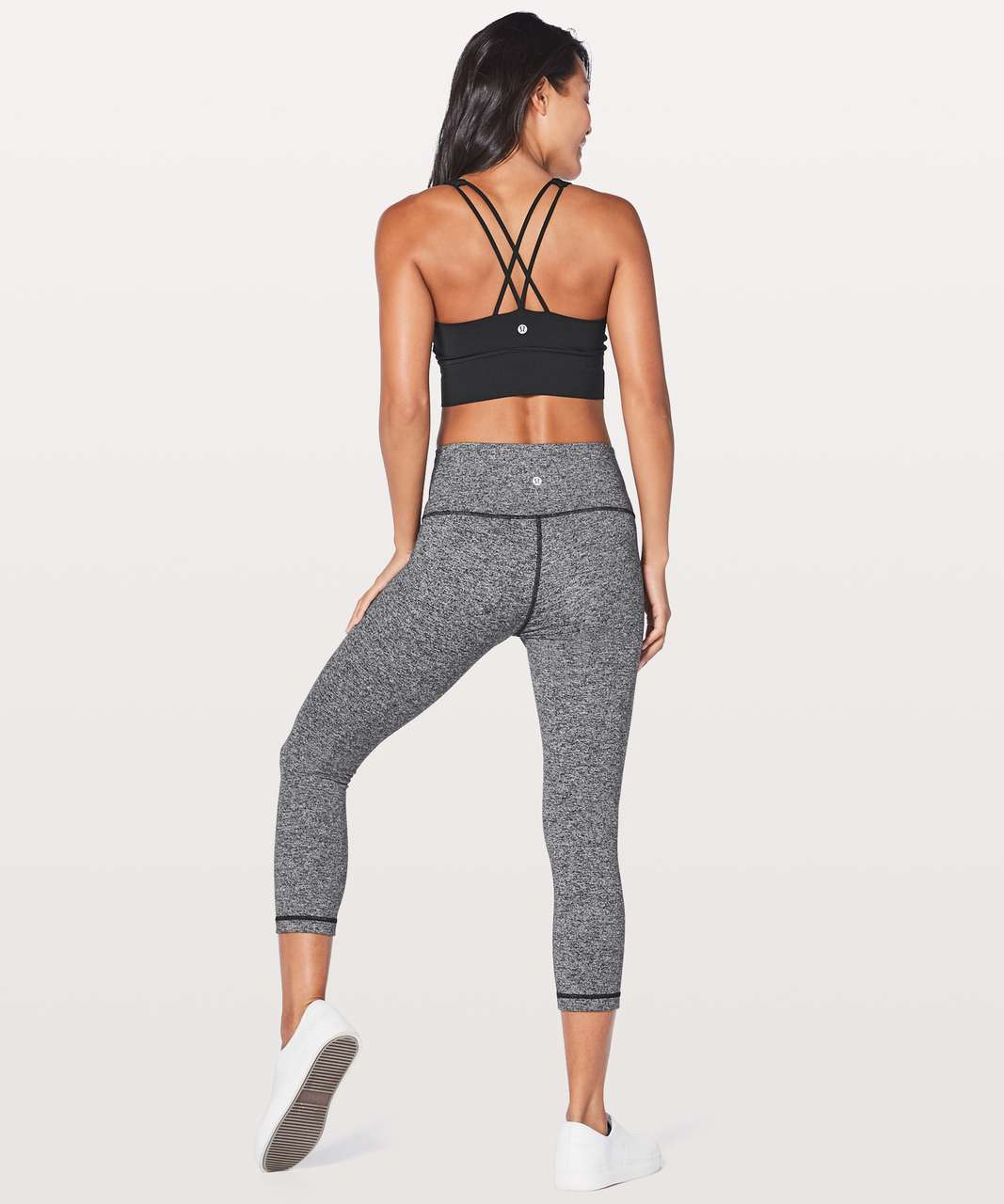 Lululemon Free To Be Bra Long Line - Black