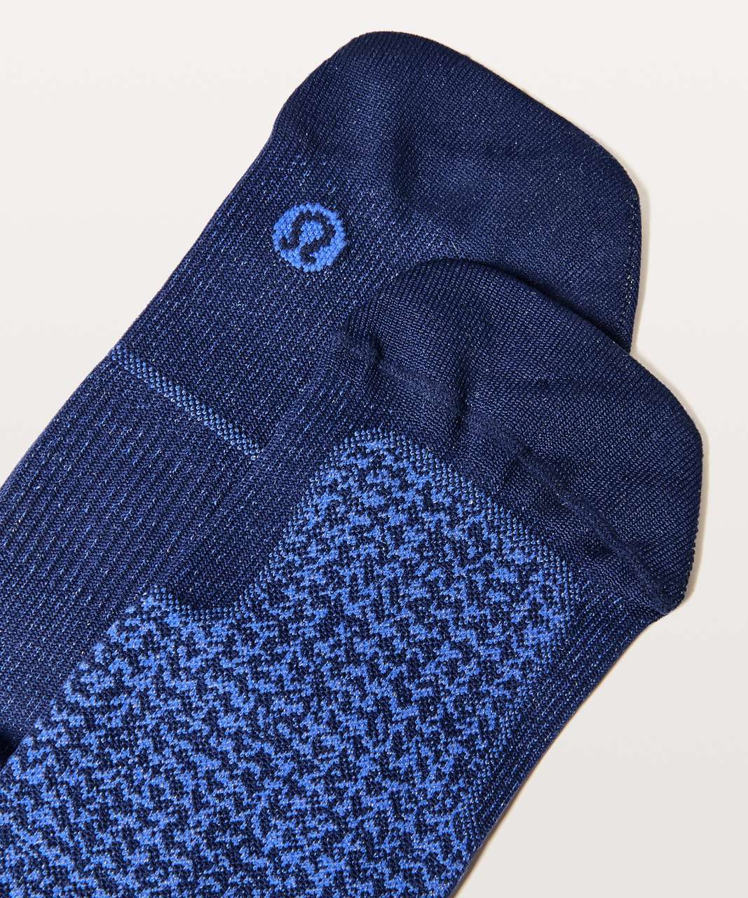 Lululemon Light Speed Sock Silver - Hero Blue / Blazer Blue