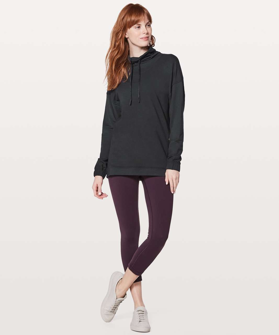 Lululemon Twisted & Tucked Long Sleeve - Black