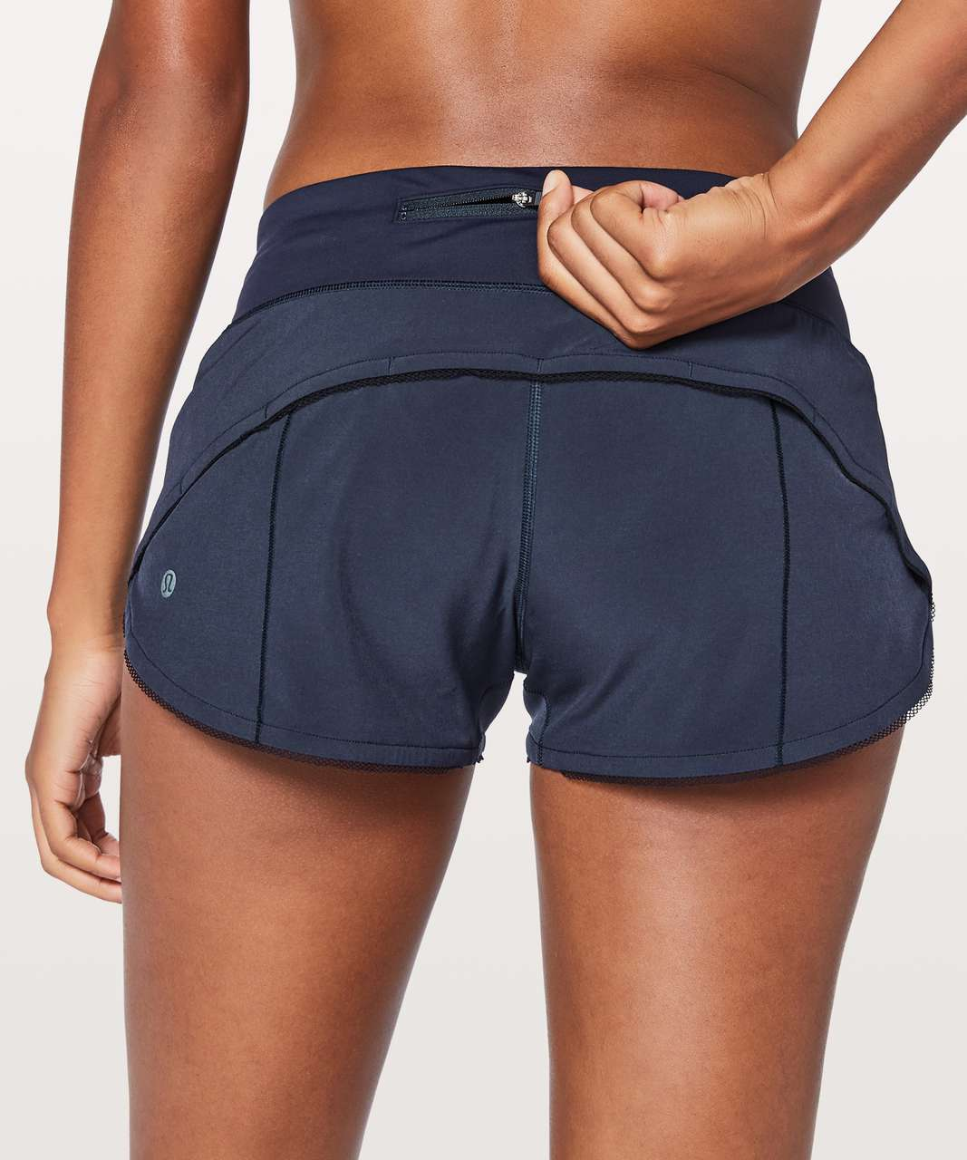 "Lululemon Speed Up Short *Awaken 2.5"" - Midnight Navy"