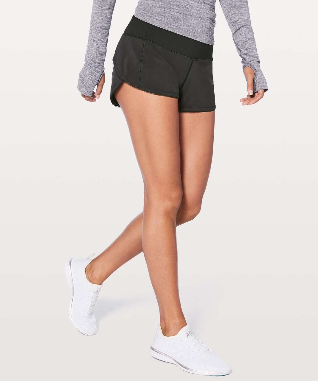 "Lululemon Speed Up Short *Awaken 2.5"" - Black"