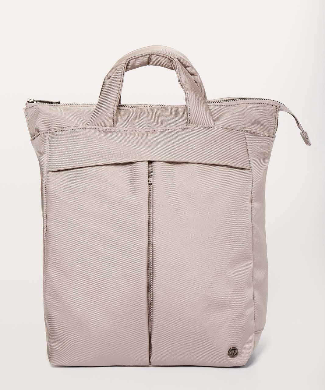 Lululemon City Adventurer Convertible Backpack 15L - Dark Chrome