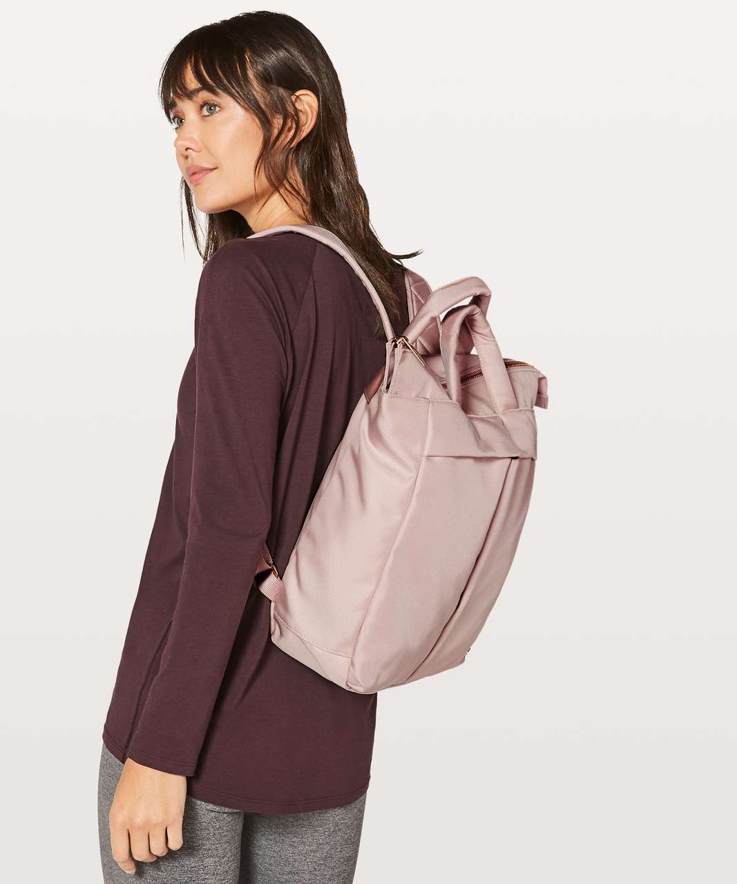 Lululemon City Adventurer Convertible Backpack 15L - Misty Pink