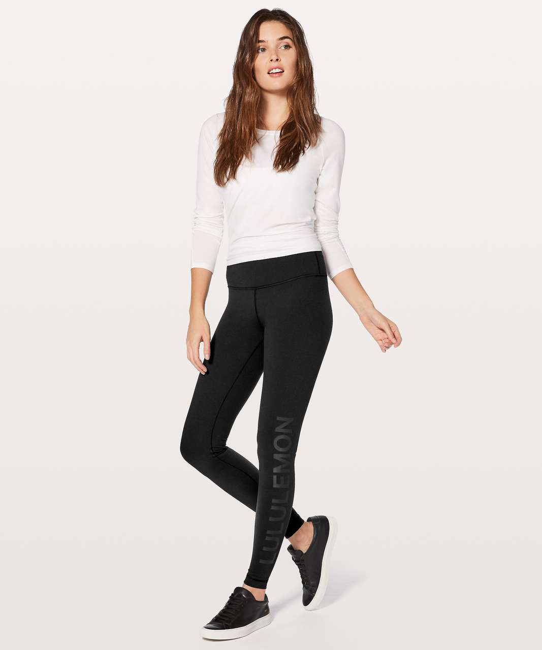 Lululemon Wunder Under Hi-Rise Tight Expression - Black
