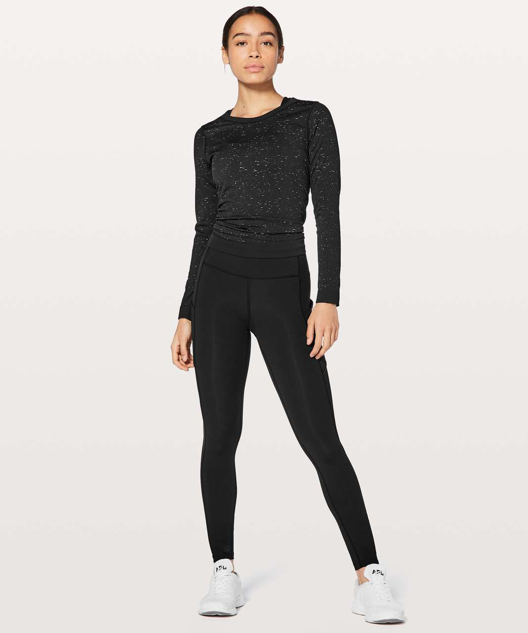 "Lululemon Speed Up Tight DWR 28"" - Black"