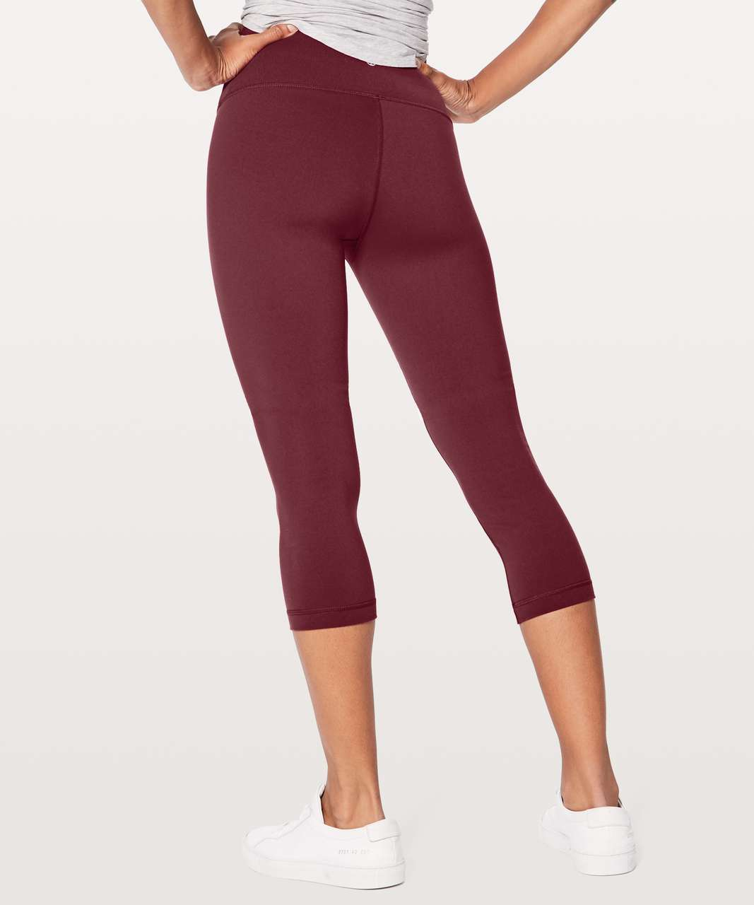 "Lululemon Wunder Under Crop (Hi-Rise) 21"" - Deep Luxe"