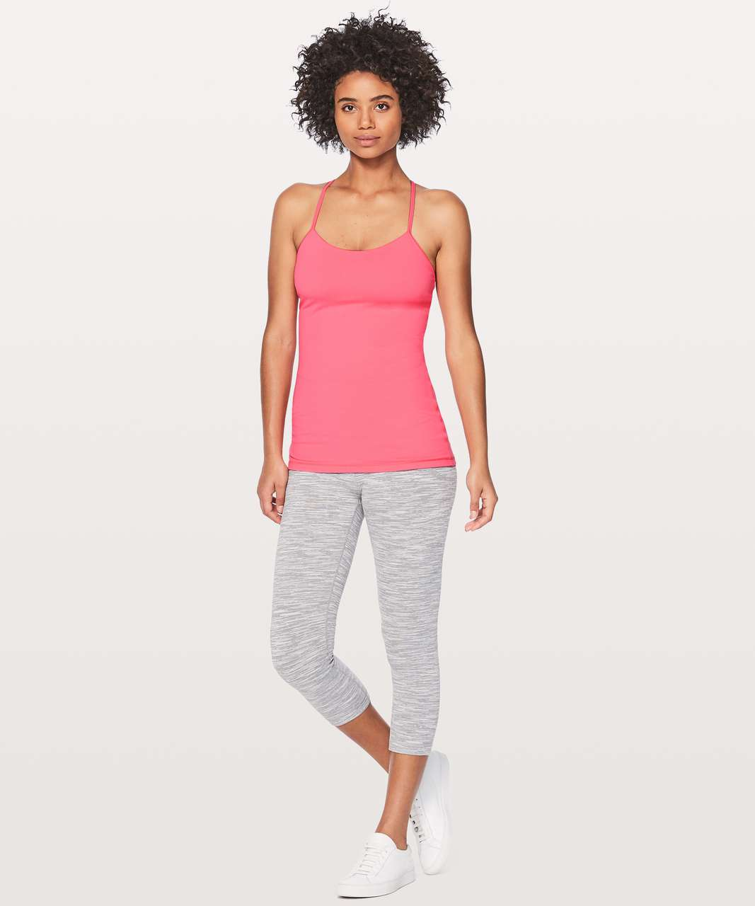 Lululemon Power Pose Tank - Flash Light Tone