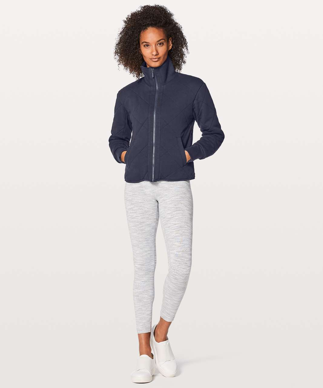 Lululemon Forever Warm Jacket - Midnight Navy