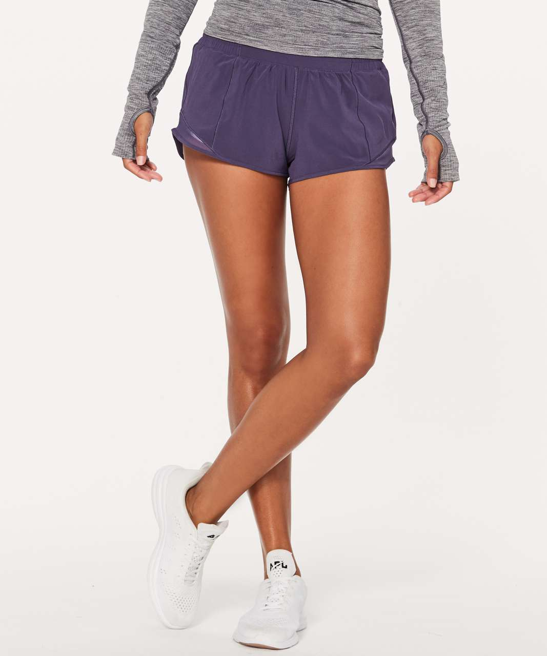 "Lululemon Hotty Hot Short II 2.5"" - Viola"
