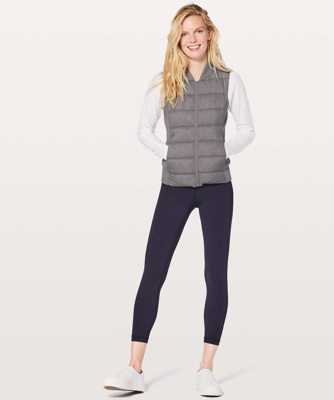 Lululemon Down & Around Vest - Light Cast