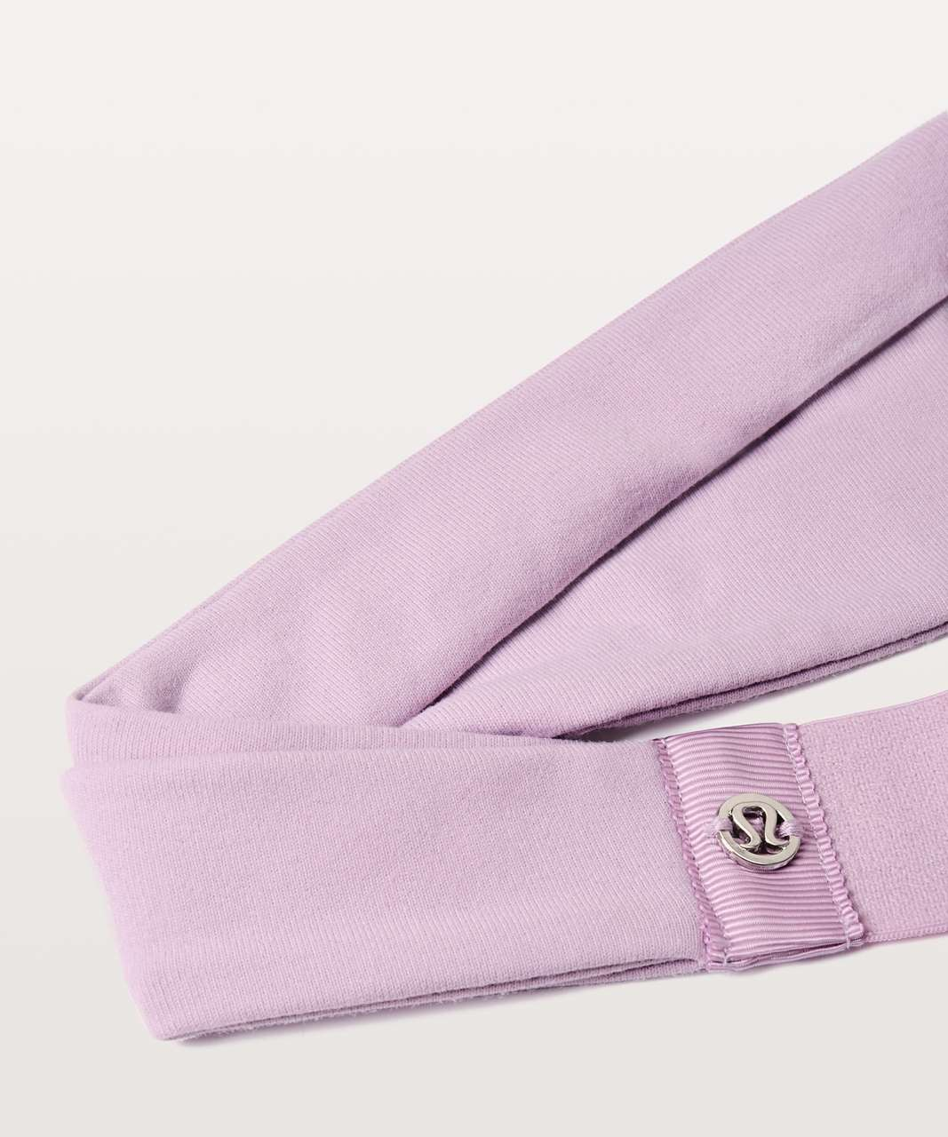 Lululemon Fringe Fighter Headband - Lilac Quartz