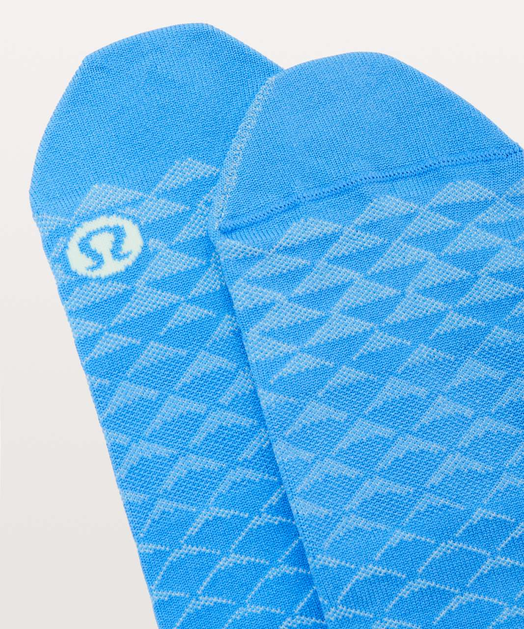 Lululemon Play All Day Sock - Porcelaine / Fresh Teal