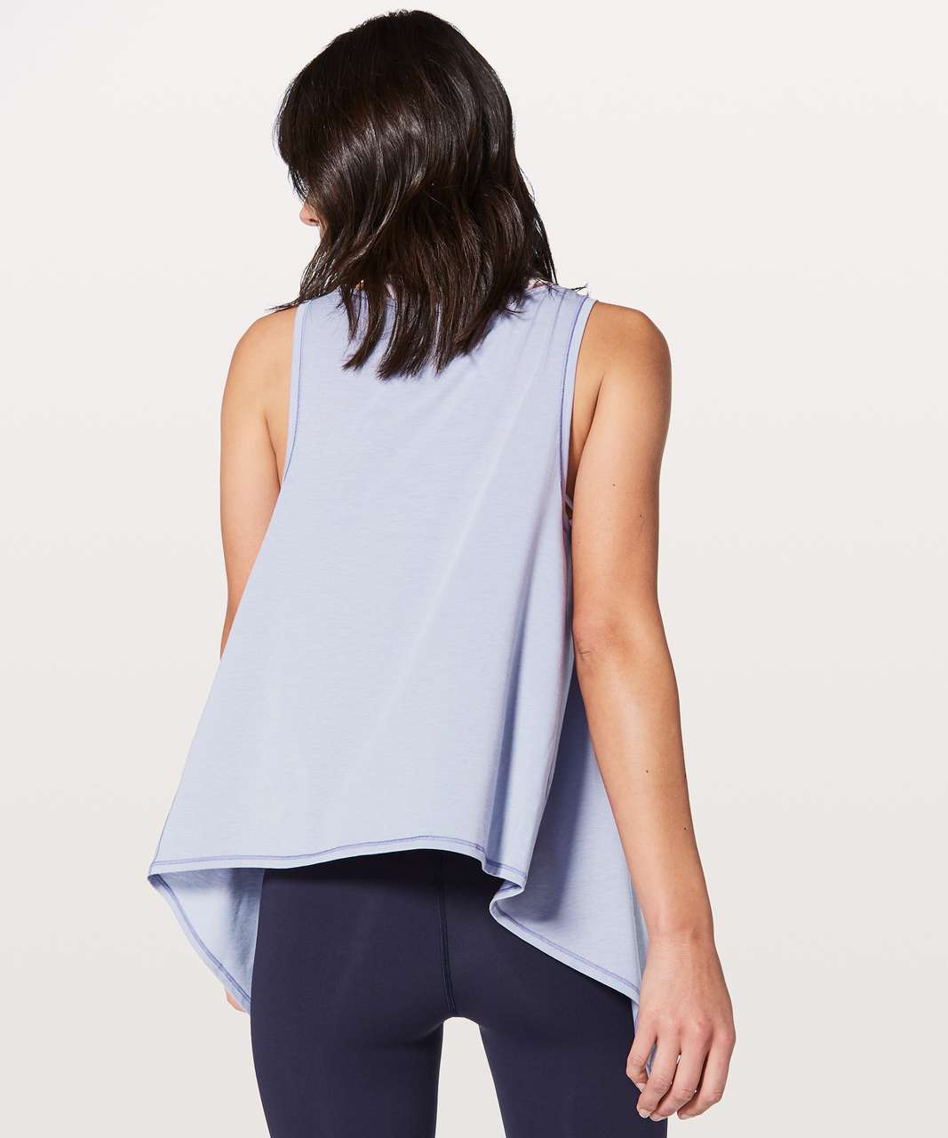 Lululemon Watch Me Flip Tank - Heathered Misty Moon