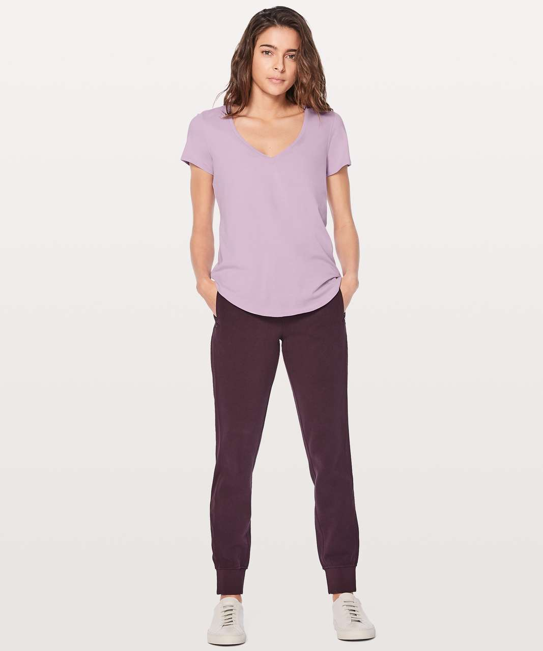 Lululemon Love Tee V - Lilac Quartz