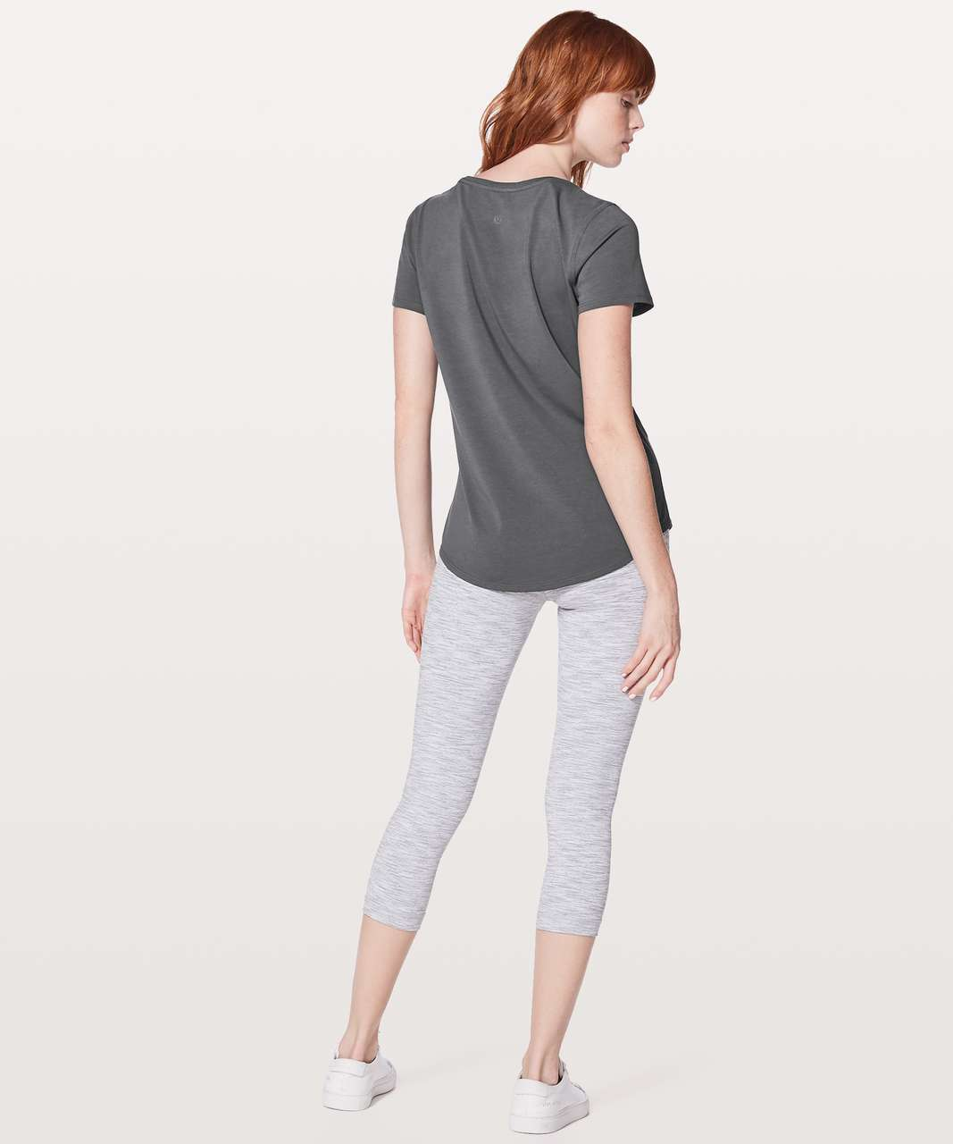 Lululemon Love Tee V - Dark Shadow