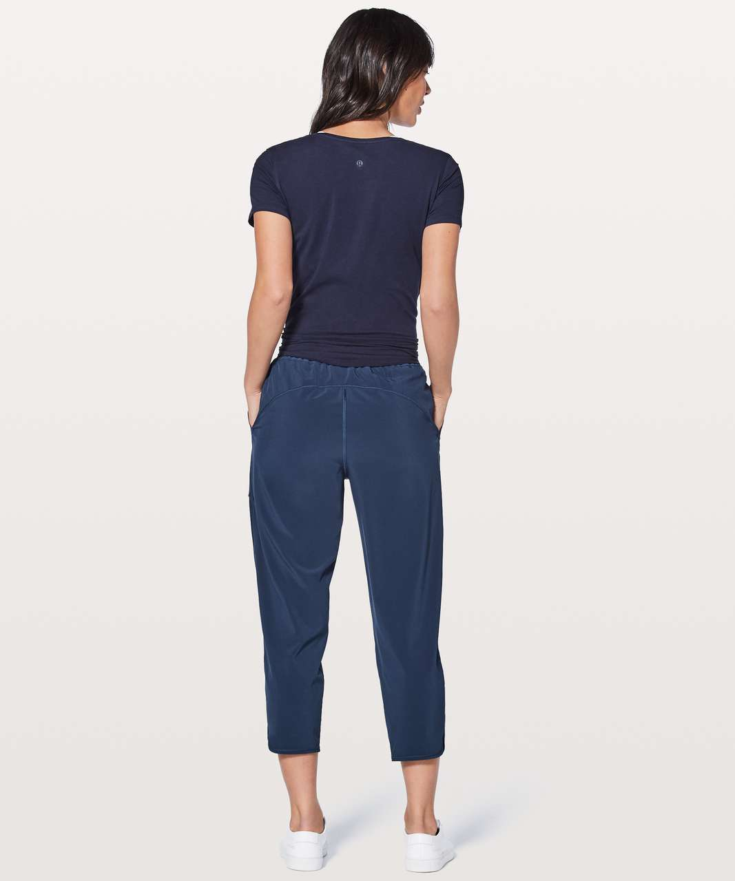 "Lululemon Final Play Crop 23"" - Mineral Blue"