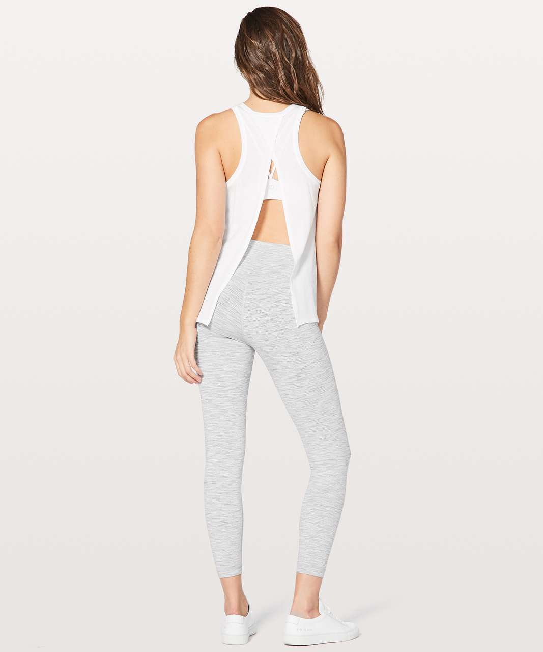 Lululemon All Tied Up Tank *Expression - White