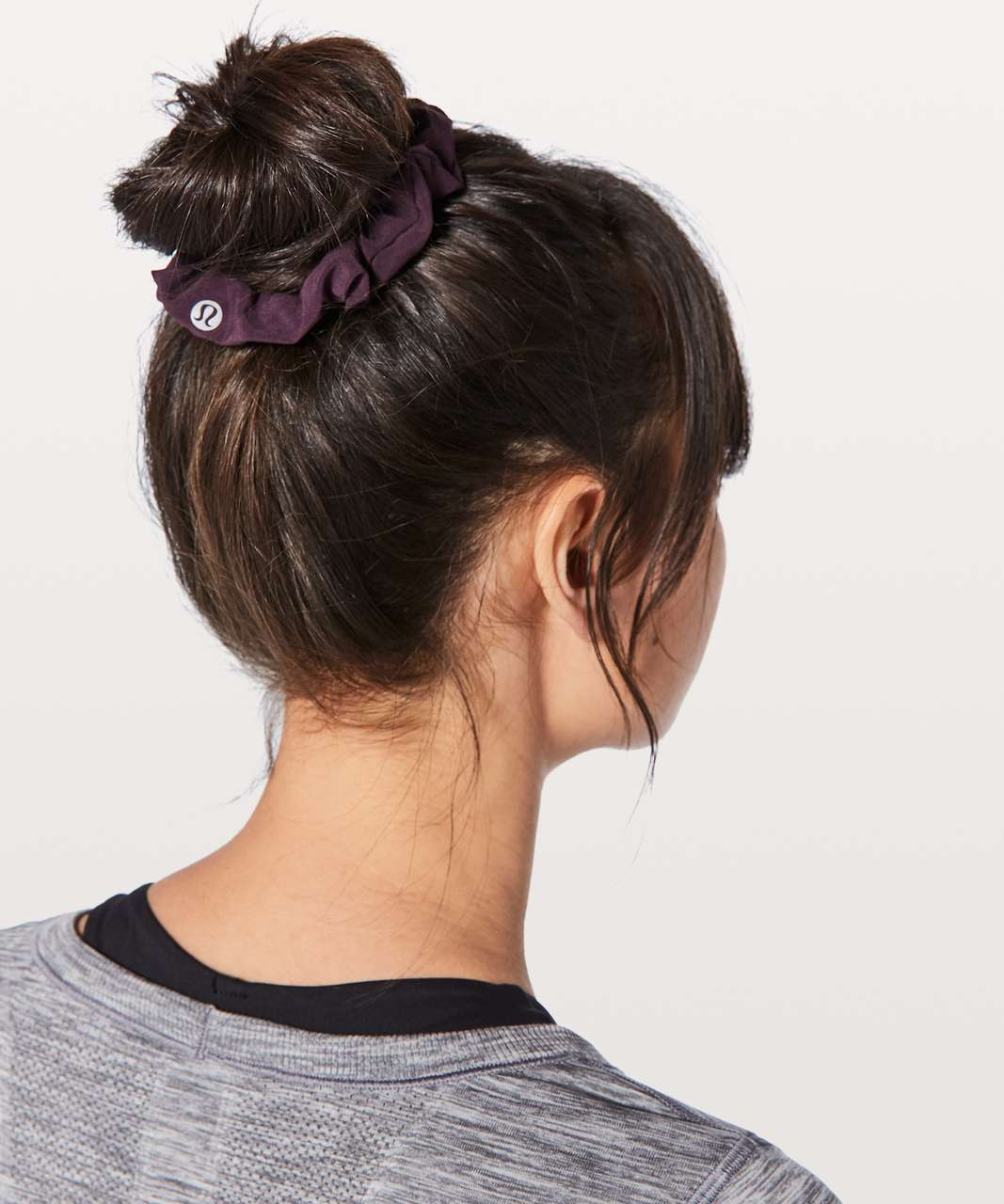 Lululemon Uplifting Scrunchie - Black Cherry