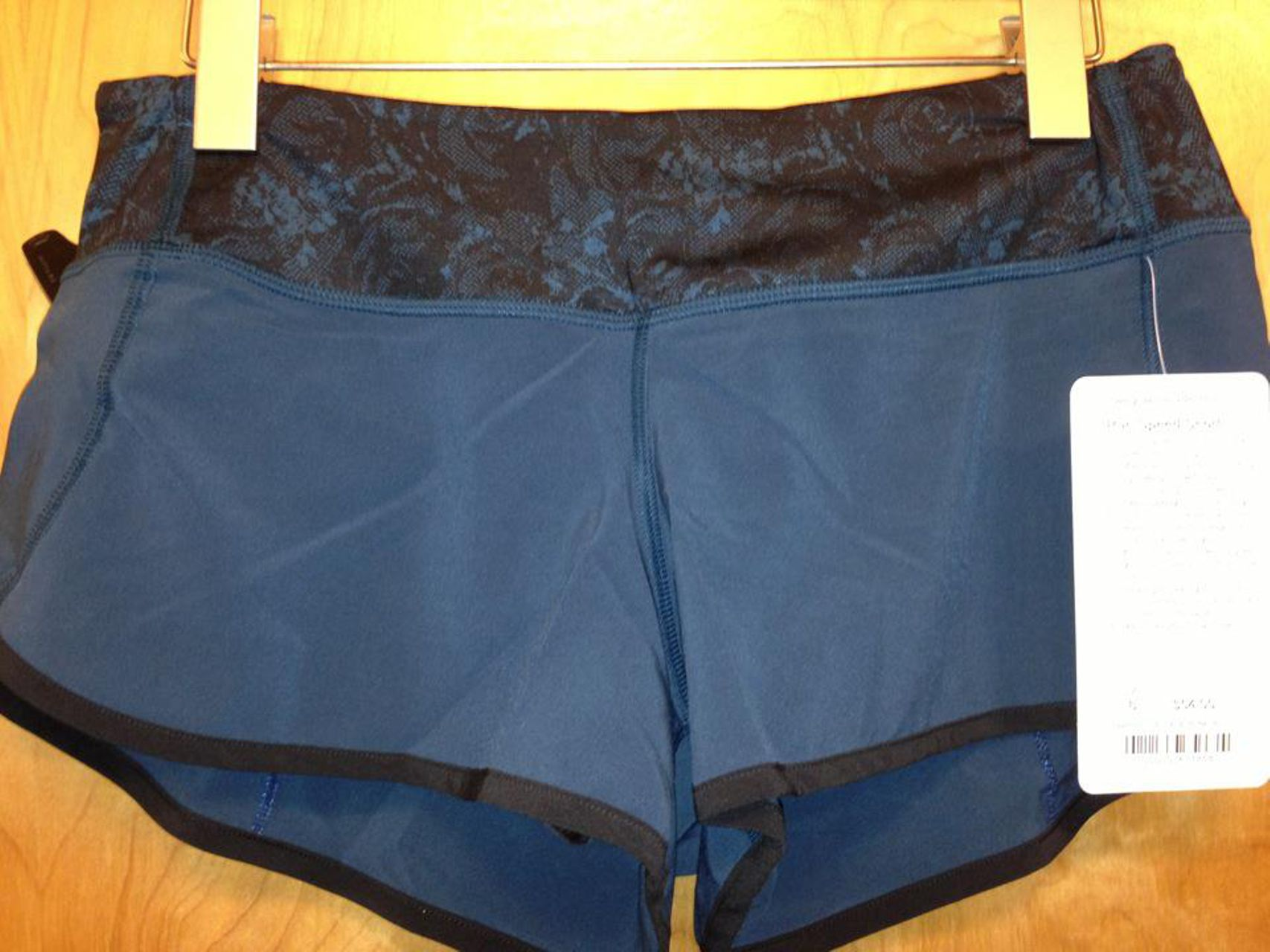 Lululemon Speed Short - Inkwell