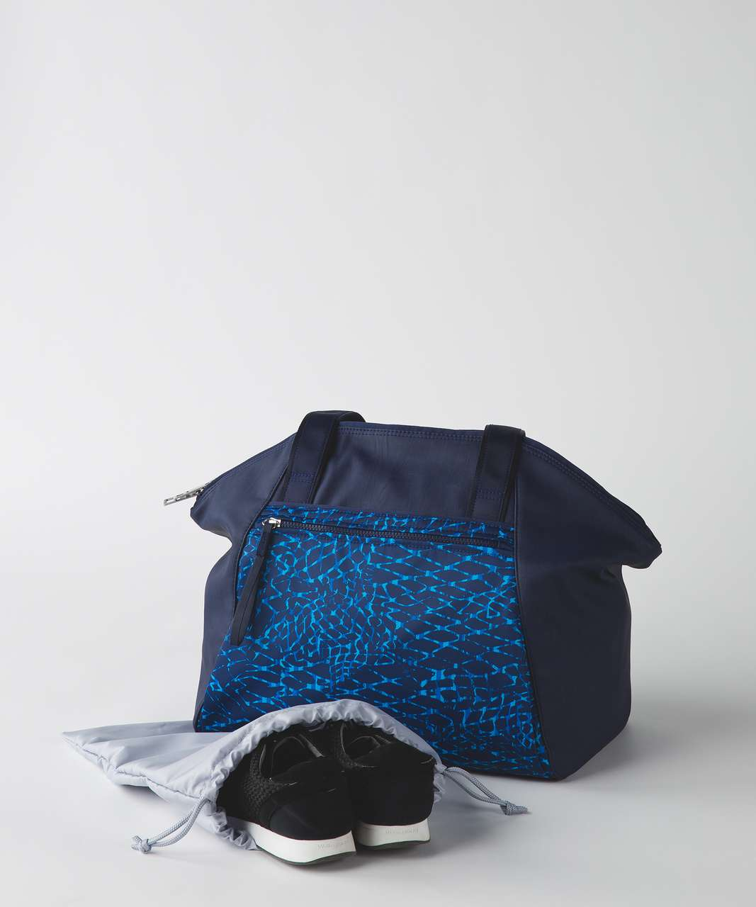 Lululemon Free to Be Bag - Salsa Snake Kayak Blue Hero Blue / Hero Blue