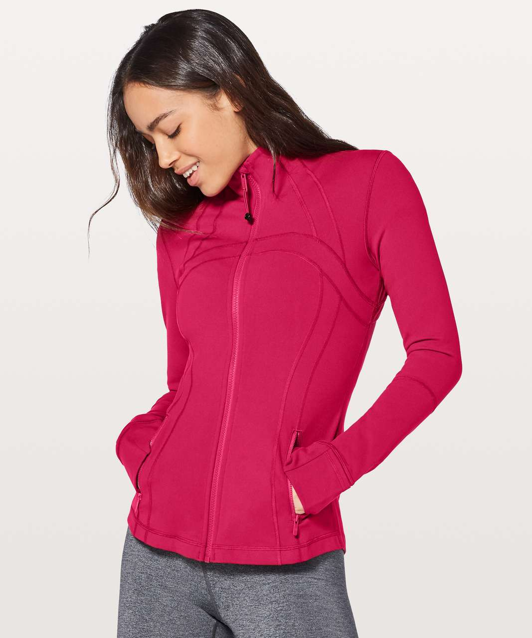 Lululemon Define Jacket - Ruby Red