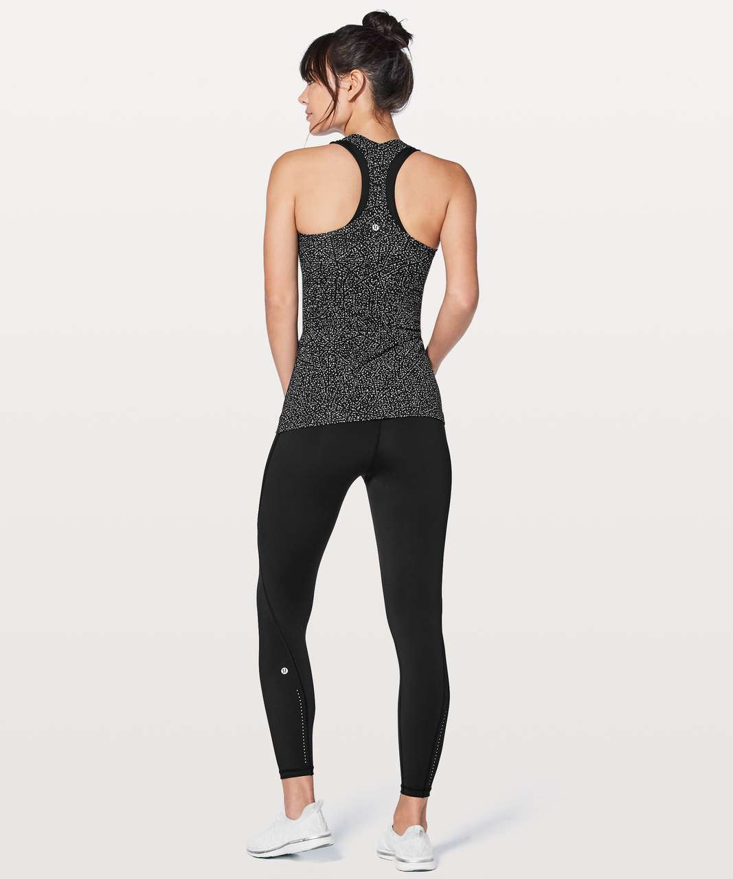 Lululemon Cool Racerback II - Night View White Black
