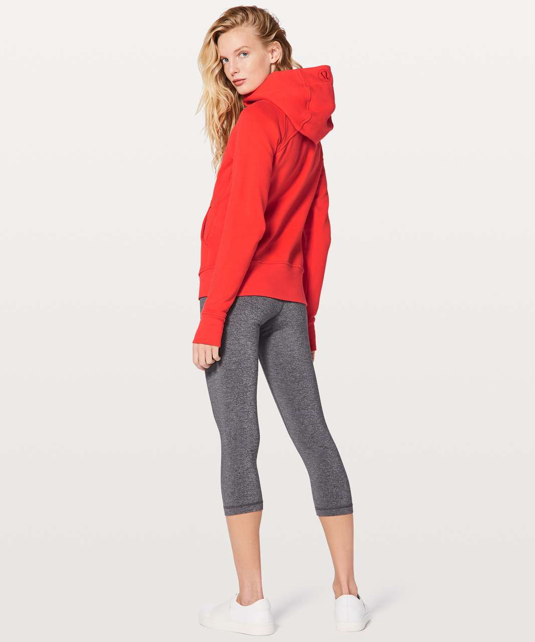 Lululemon Scuba Hoodie *Light Cotton Fleece - Vivid Flame