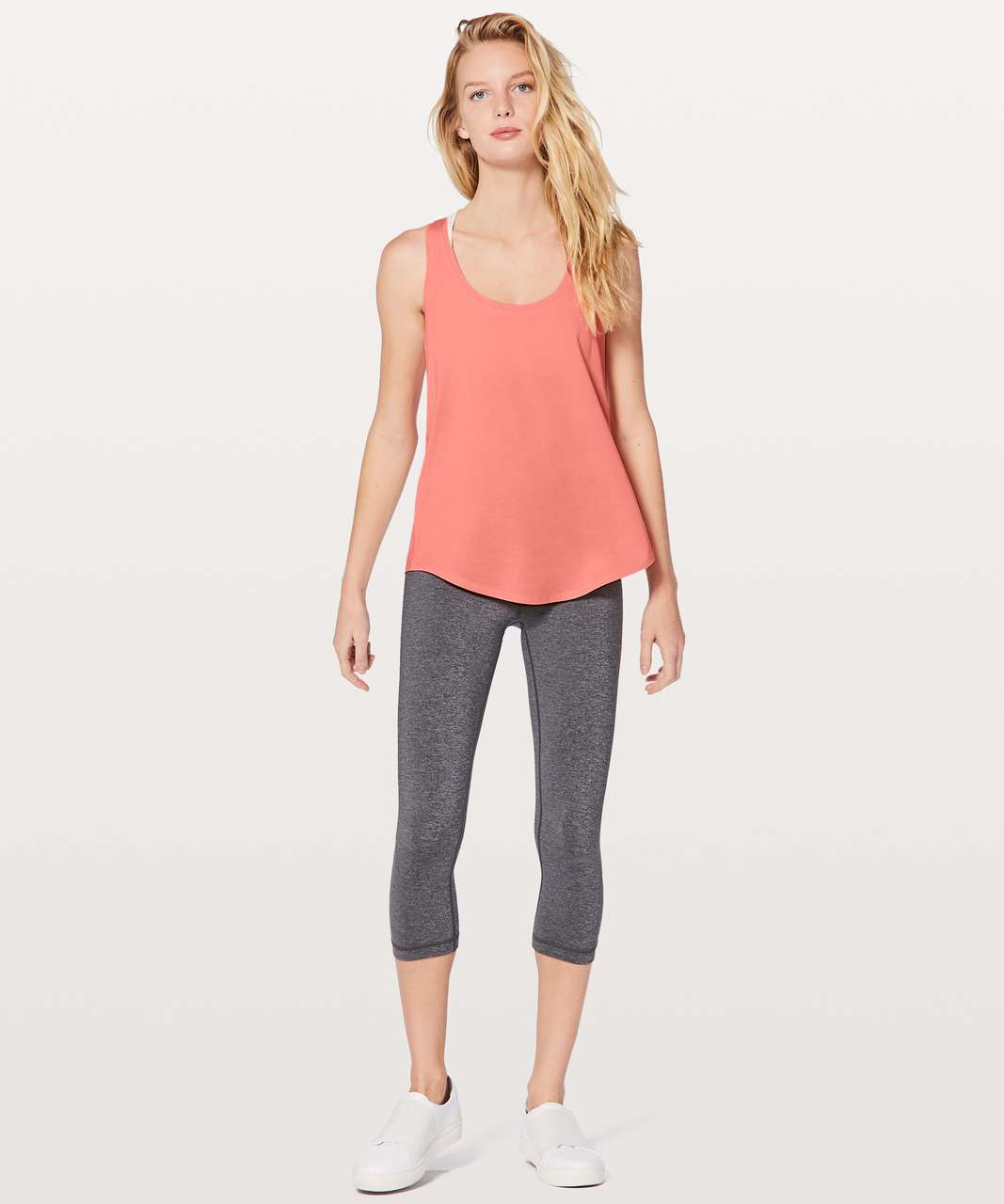 Lululemon Love Tank II - Light Coral