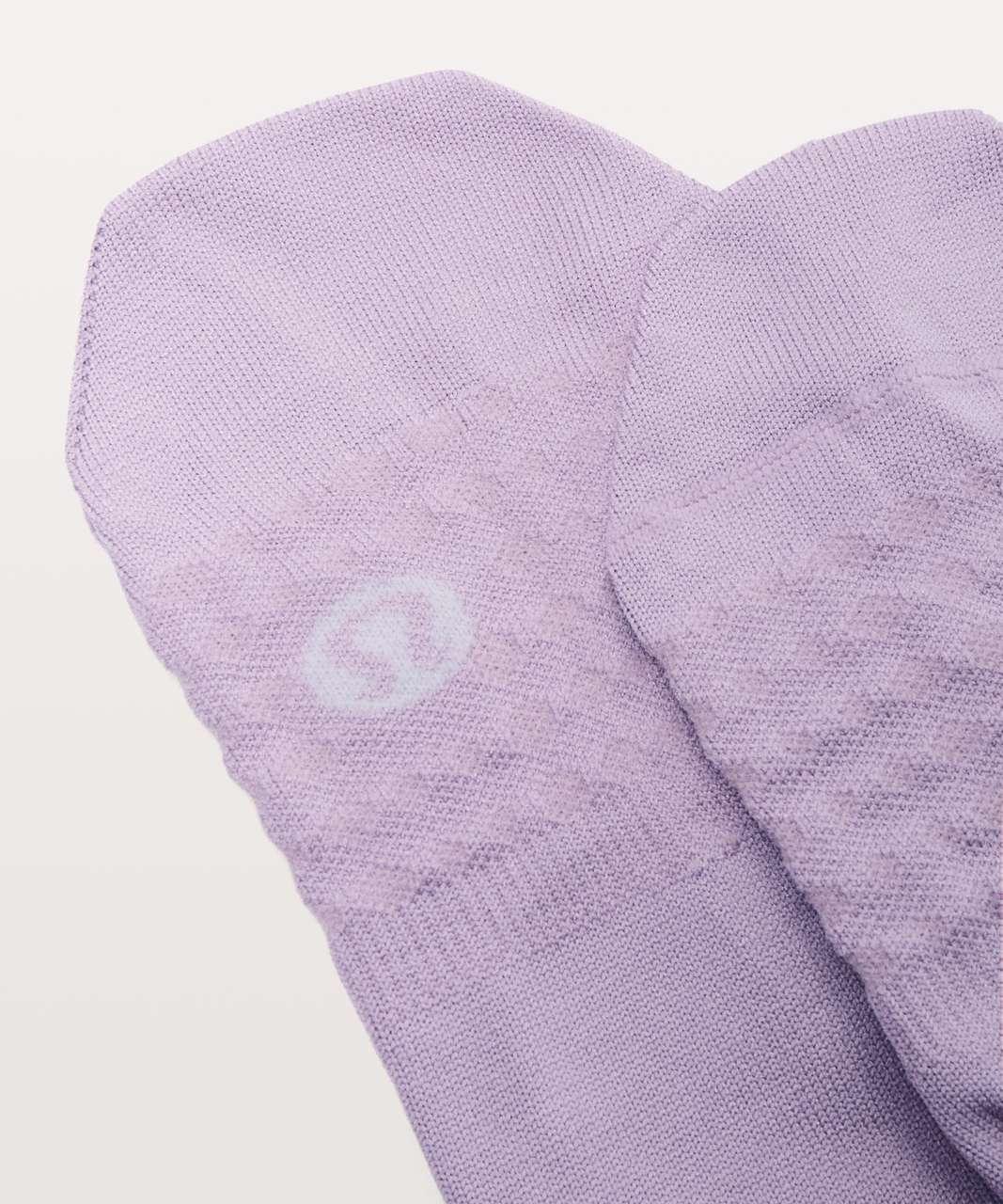 Lululemon Secret Sock - Lilac Quartz / Rose Quartz