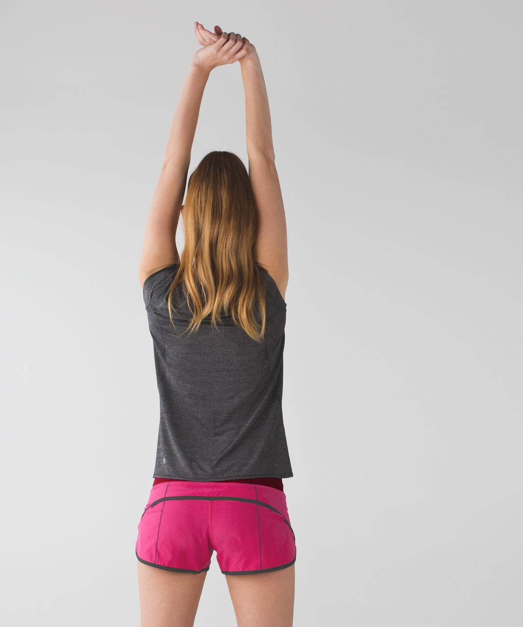 Lululemon Run:  Speed Short *4-way Stretch - Jewelled Magenta / Dashing Purple