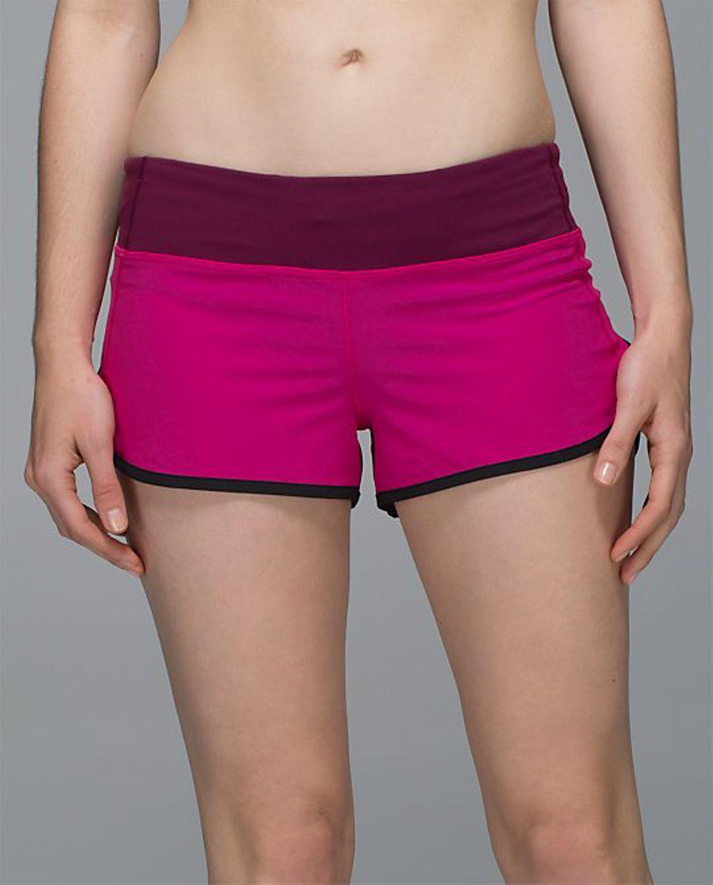 Lululemon Run:  Speed Short *4-way Stretch - Jewelled Magenta / Dashing Purple