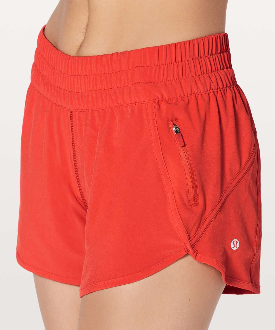 "Lululemon Tracker Short V *4"" - Vivid Flame"