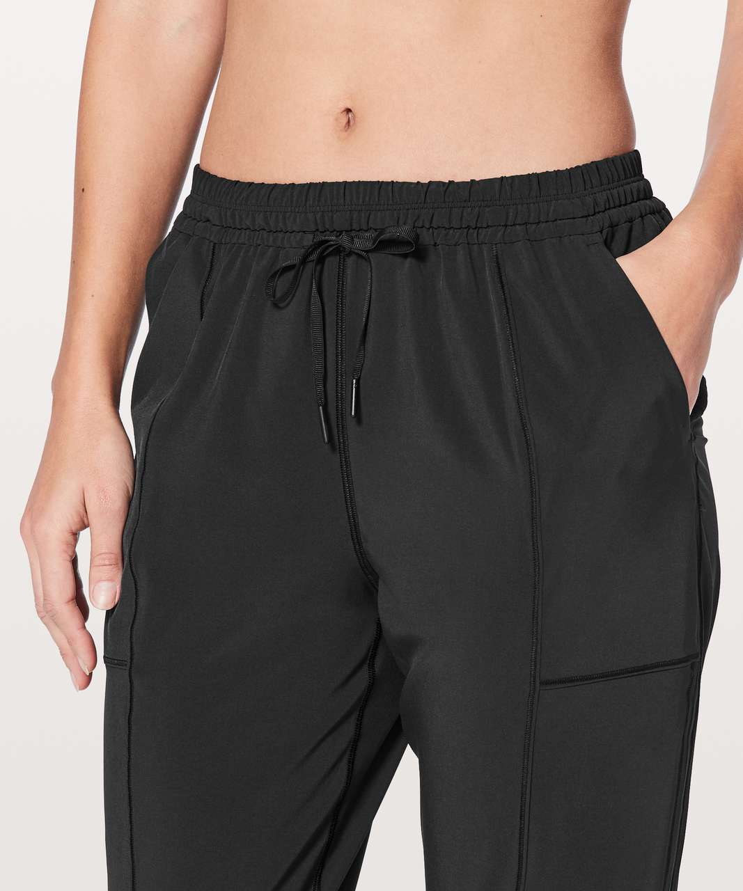 "Lululemon Final Play Crop *23"" - Black"