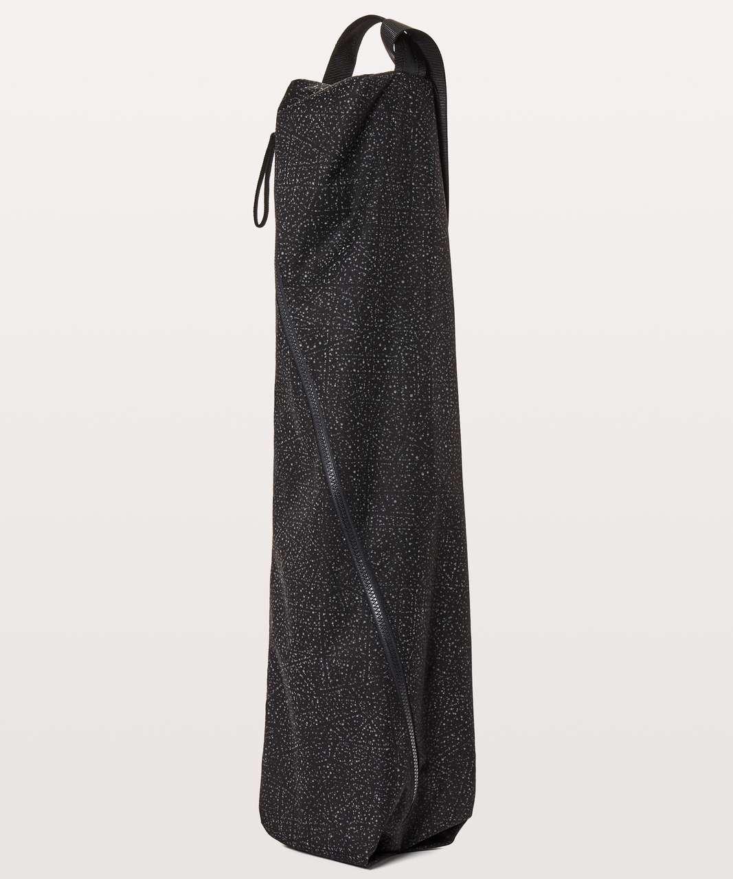 Lululemon The Yoga Bag Reflective 14L - Night View White Black / Black