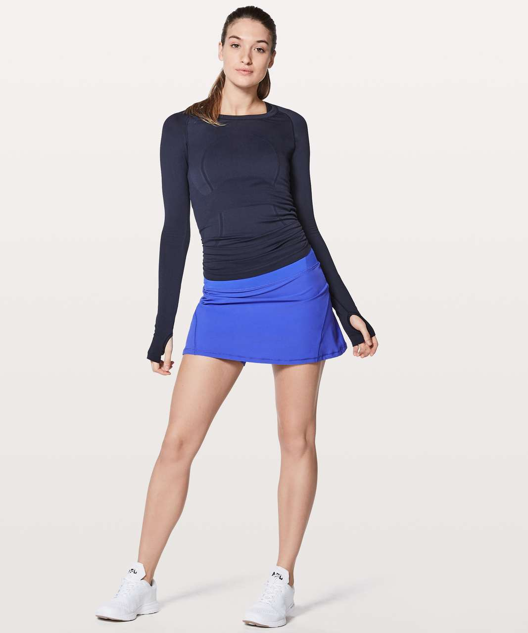 "Lululemon Circuit Breaker Skirt II (Tall) 15"" - Blazer Blue"