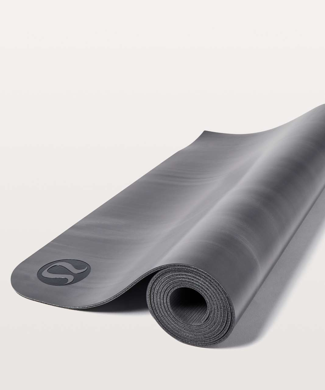 Lululemon The Reversible Mat 3mm - Black / White / Black
