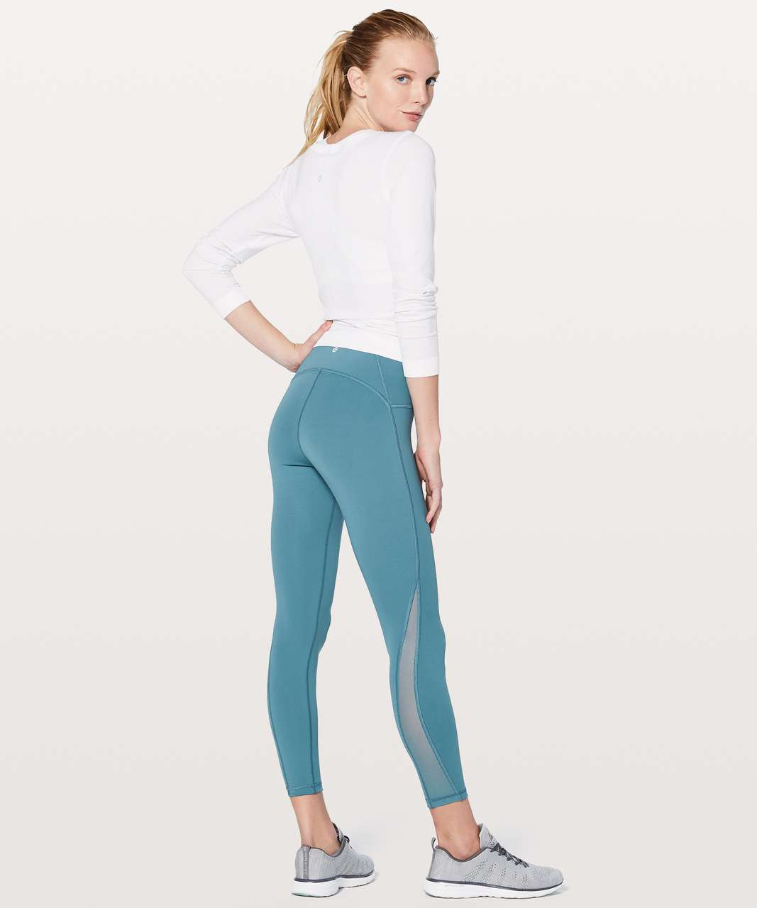 "Lululemon Train Times 7/8 Pant *25"" - Persian Blue"
