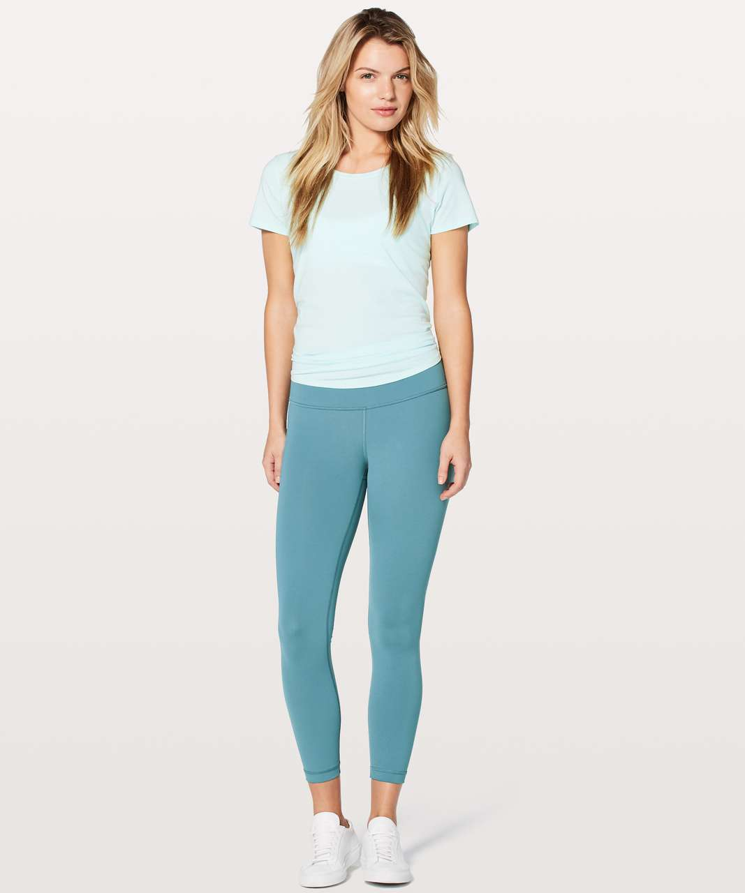 "Lululemon Wunder Under Hi-Rise 7/8 Tight *Full-On Luxtreme 25"" - Persian Blue"