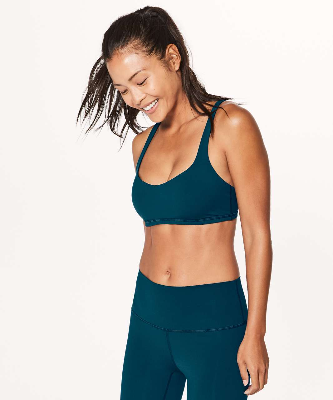 Lululemon Free To Be Bra - Nile Blue