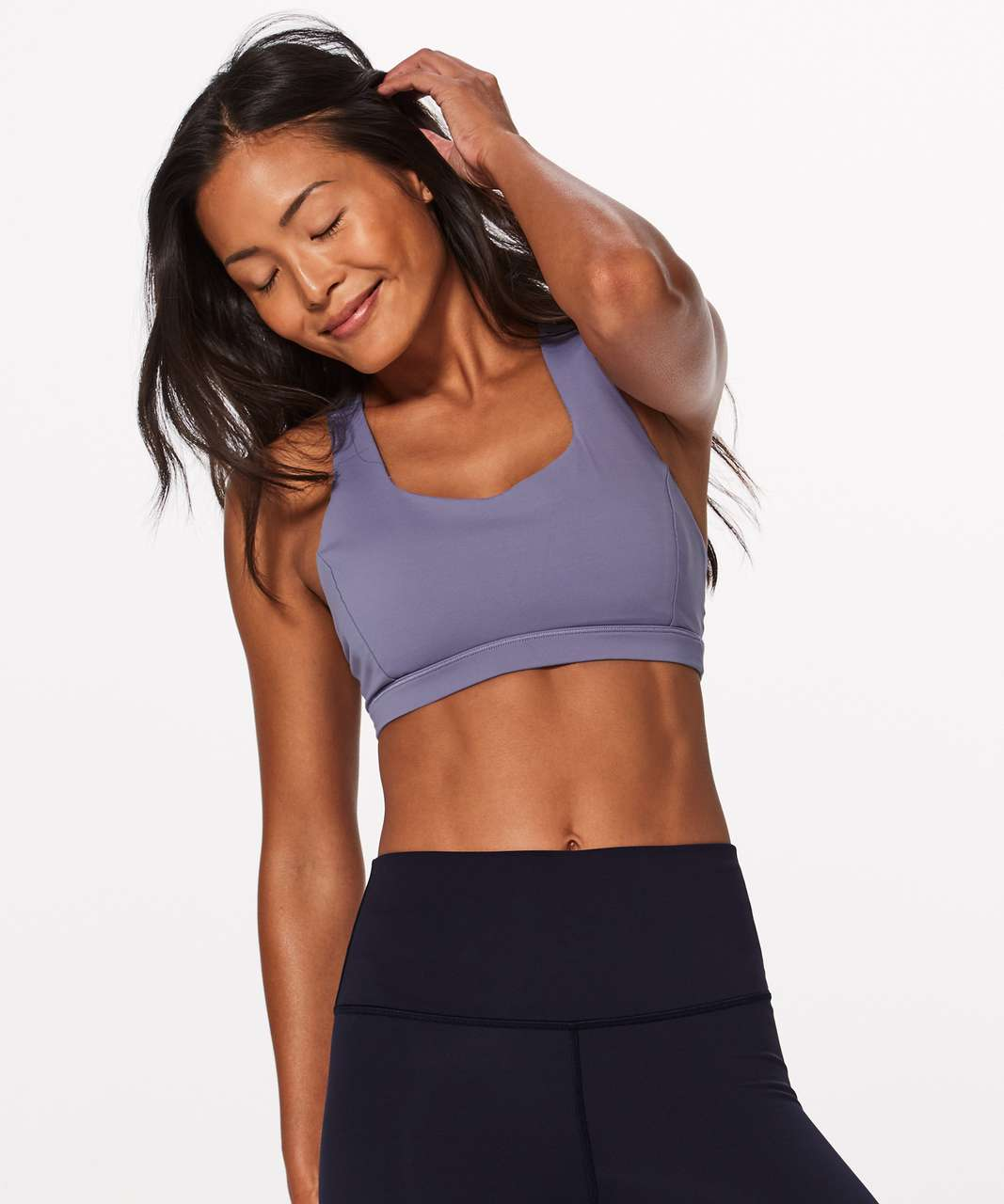 Lululemon Free To Be Serene Bra - Peri Purple