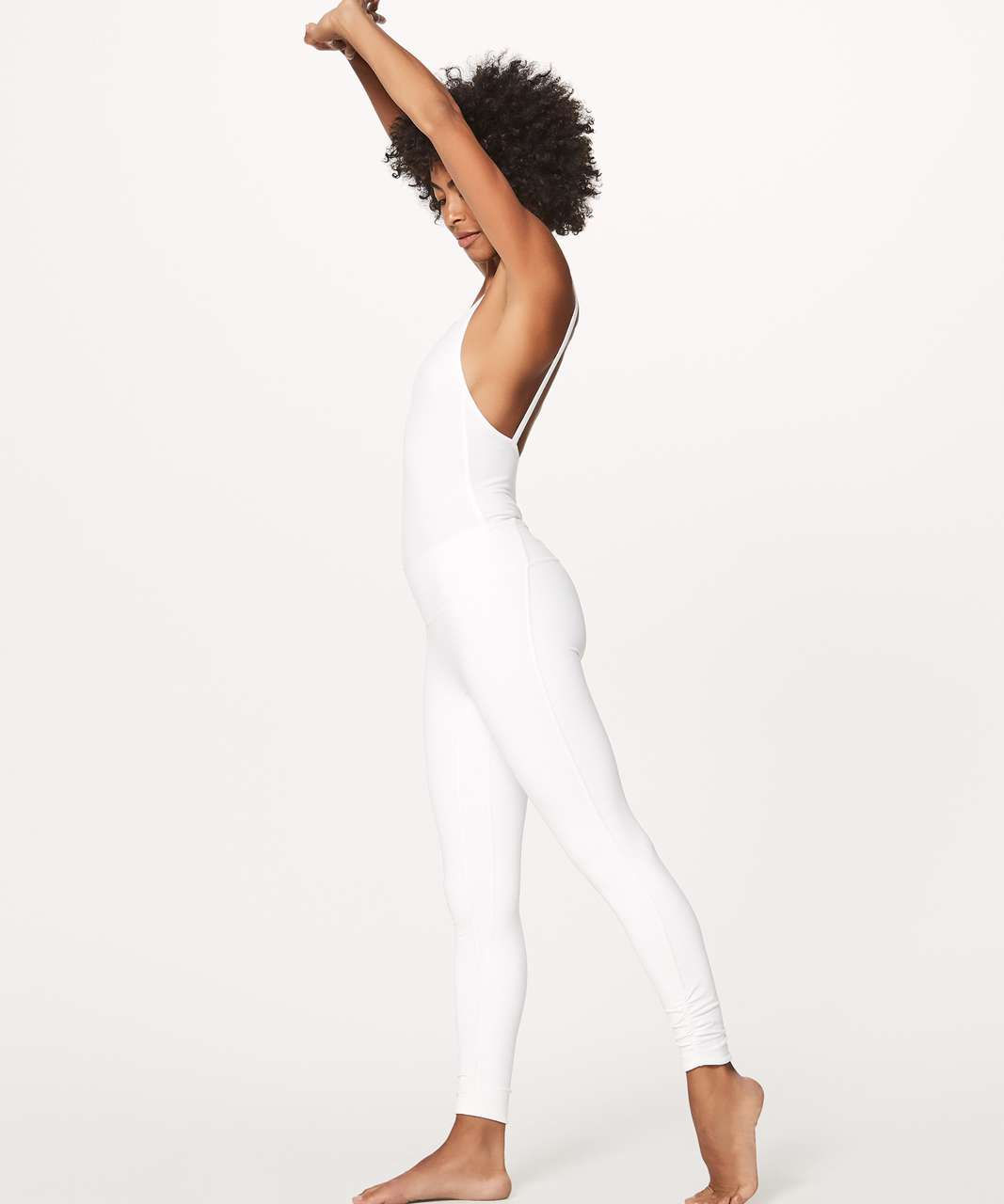 "Lululemon Awakening Tight *Taryn Toomey Collection 25"" - White"