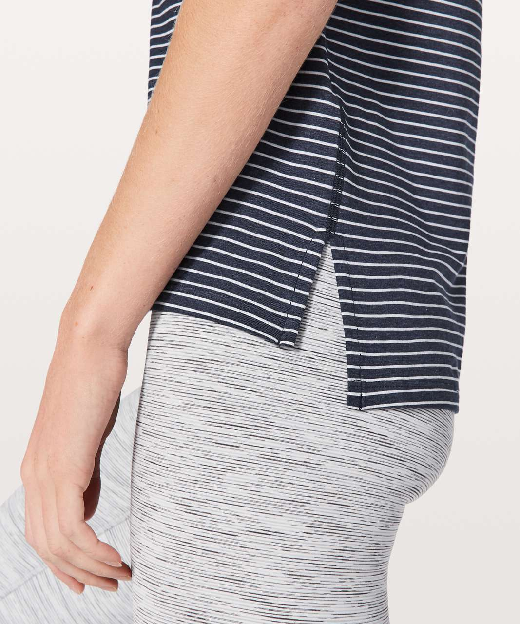 Lululemon Love Sleeveless Tank - Modern Stripe Heathered Hero Blue White