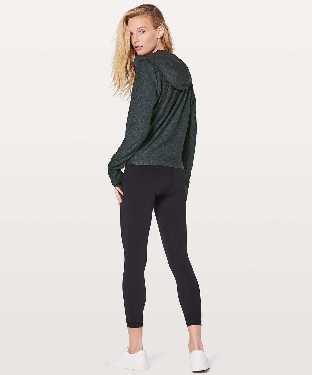 Lululemon Ready To Rulu Wrap - Heathered Nocturnal Teal / Black